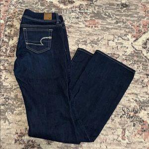 American Eagle jeans in slim boot cut